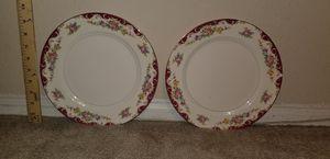 Set of 2 Pope - Gosser Red Knight Dinner Plates for Sale in Woodbridge, VA