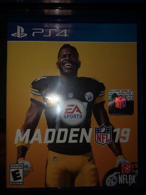 Madden NFL 19 PS4 for Sale in Alexandria, VA