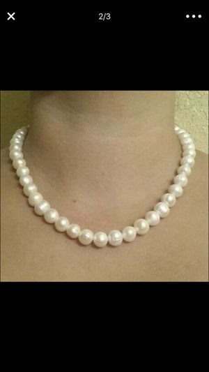 Real pearls necklace for Sale in Fairfax, VA