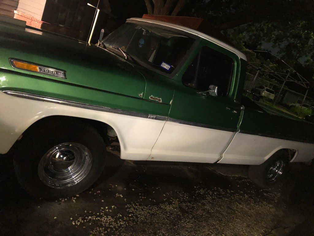 Photo 1972 Ford F100 Long Bed