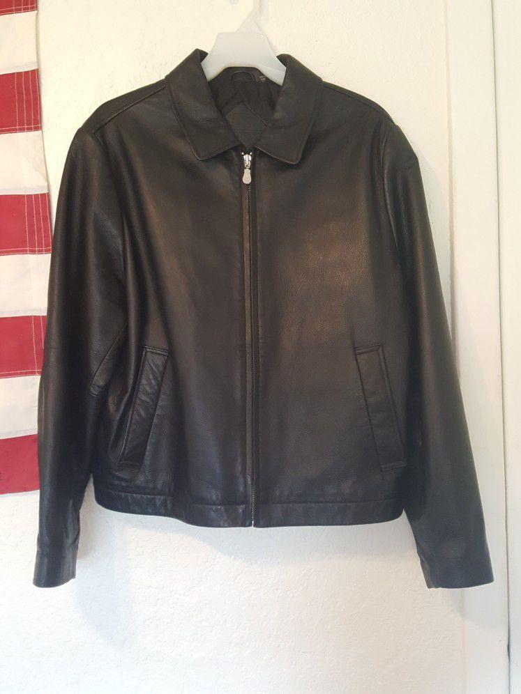 BEAUTIFUL Roundtree & York Leather Jacket Size Med Mens
