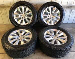 "Photo 2019 Chevy Tahoe Suburban Silverado 20"" Wheels Rims Toyo Tires LT305/55/20"