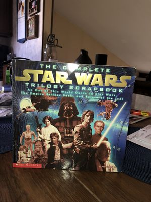 Photo Old school book for Star Wars collector 1997 obo of price