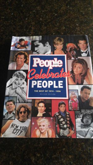 Collectors product: People weekly Celebrates People Best of 1974-1996 for Sale in Seattle, WA