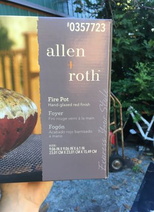Roth Fire Pot For In Suffolk Va