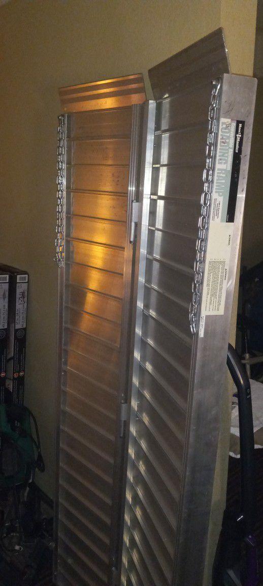 Haul Master Convertible Aluminum Loading Ramp
