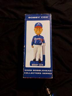 Atlanta Braves collector series 2008 Bobby Cox bobblehead Thumbnail