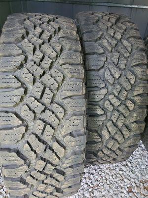 Photo 265 75 16 Goodyear Duratrac tires
