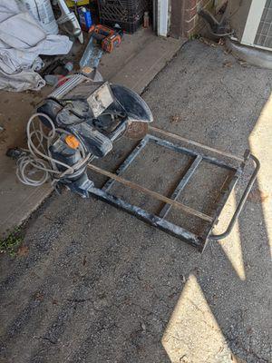 Photo Harbor Freight tile saw