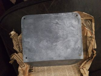 Silver  Ford  step plate's  Thumbnail
