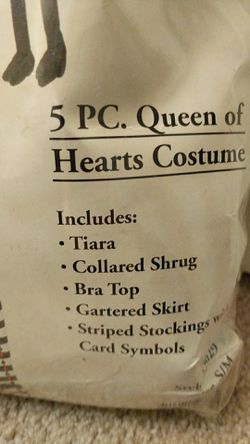 Sexy Queen of Hearts costume Thumbnail