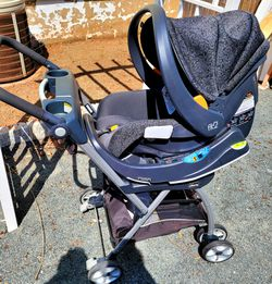 Chico Cat Seat With Stroller Thumbnail