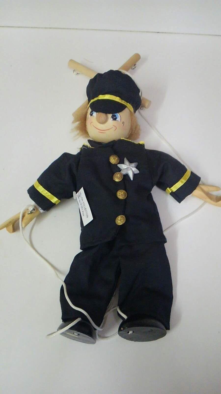 Vintage Marionette Policeman