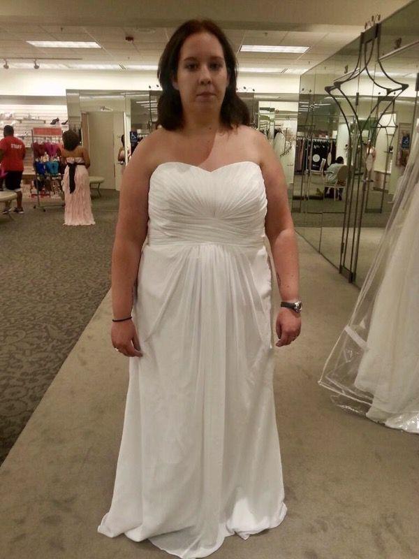 9269eeb4c31 Brand New David s Bridal Wedding Dress size 18 for Sale in Monroe ...