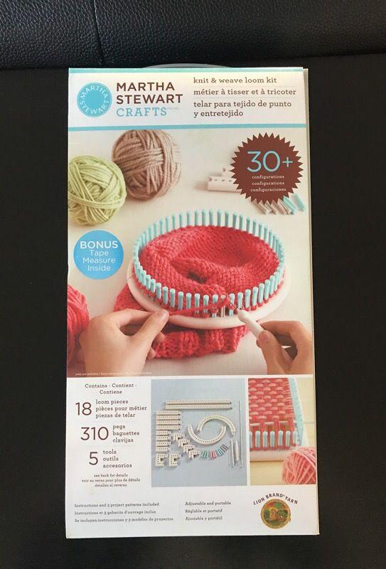 Martha Stewart Knit Weave Loom Kit For Sale In San Jose Ca Offerup