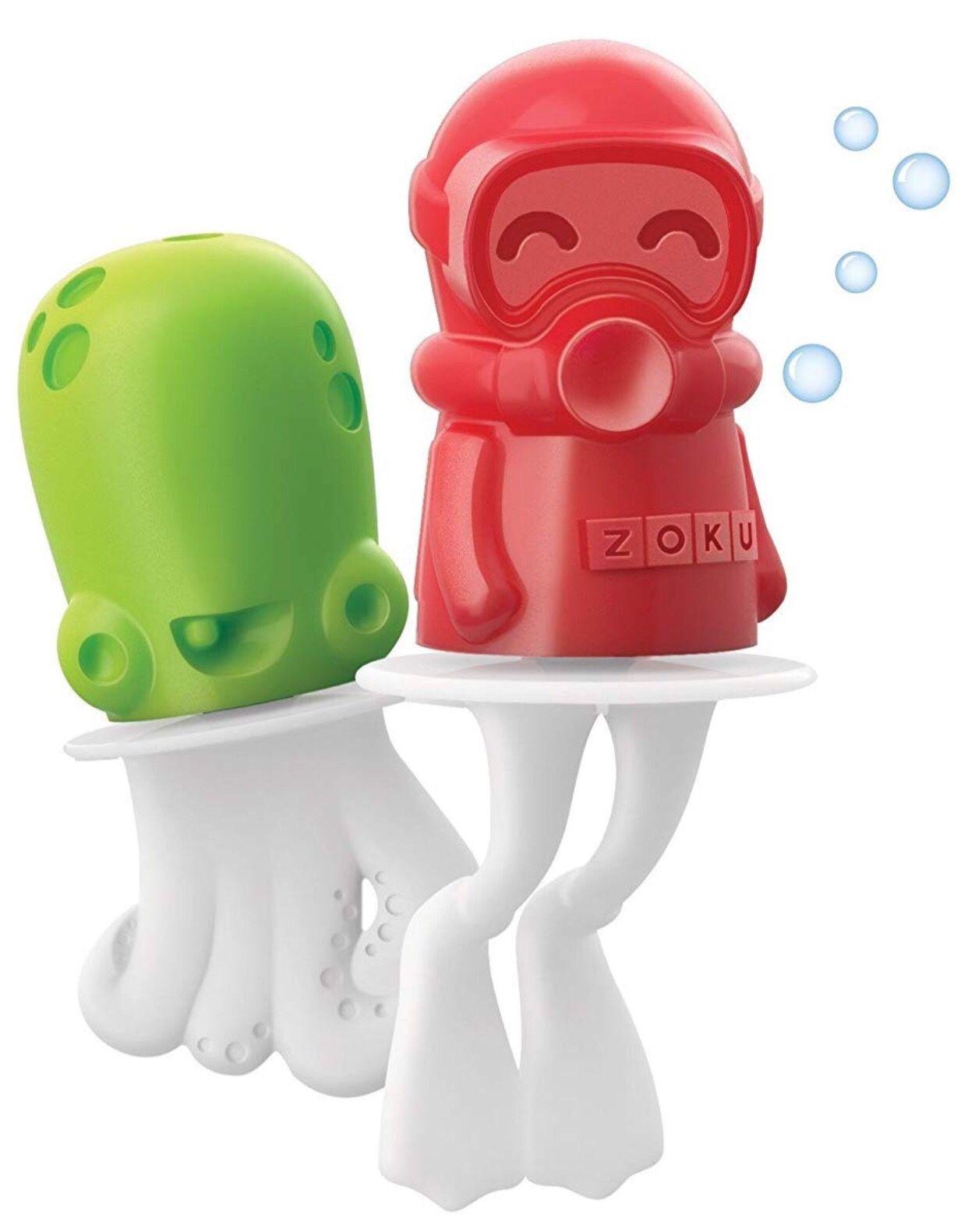 Zoku Ice Pop Molds - BPA Free