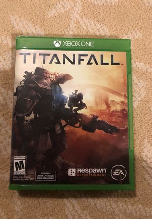 Xbox one game Titanfall for Sale in Ashburn, VA