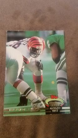 Bengals football cards Thumbnail