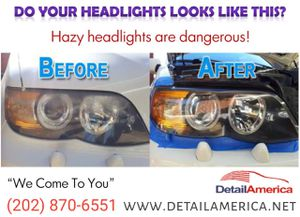 Headlight Restoration for Sale in Silver Spring, MD