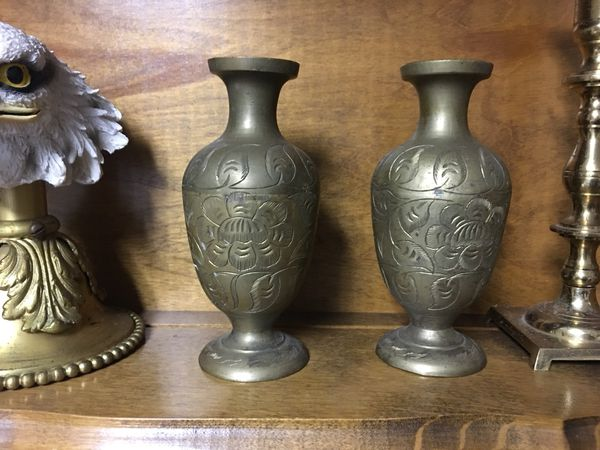 Small Vintage Brass Vases For Sale In San Jose Ca Offerup