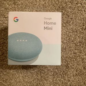 Photo Google home mini aqua blue