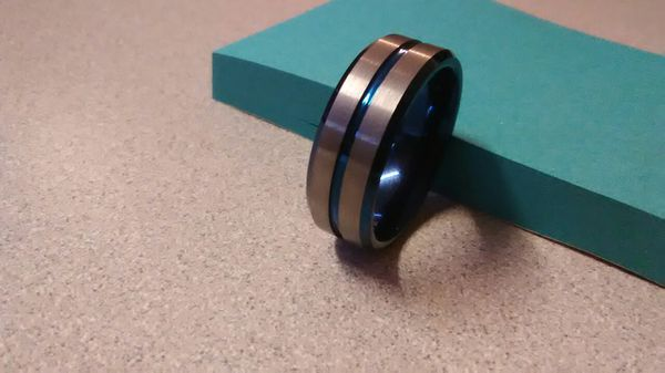 Brand New Tusen Jewelry Men S 10 5 Tungsten Carbide Wedding Band Accessories In Richmond Va Offerup