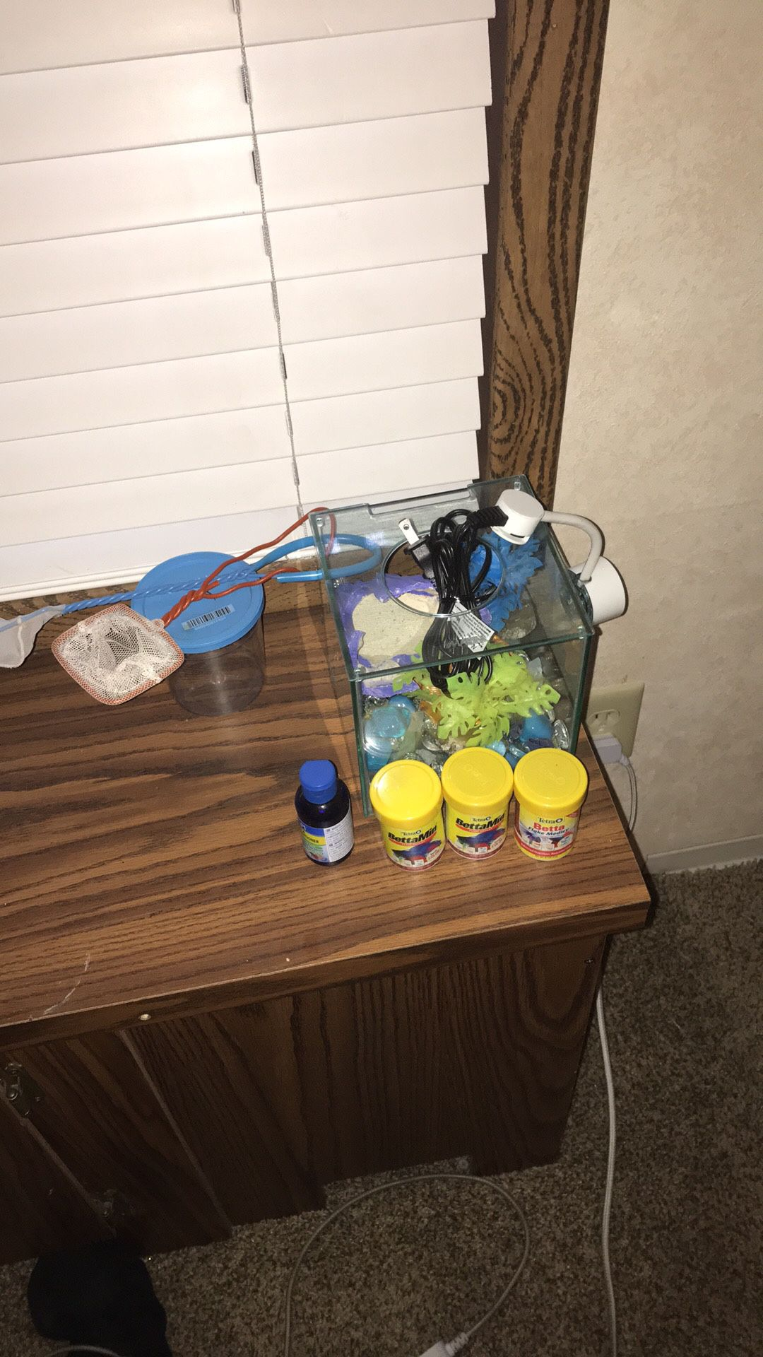 Fish tank in items for the fish tank