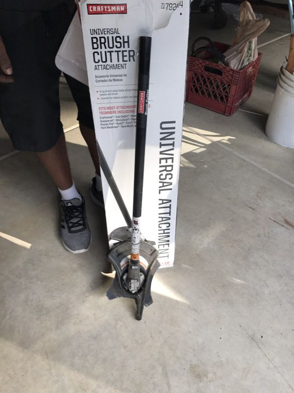 Craftsman Brush Cutter Attachment For Sale In Des Moines