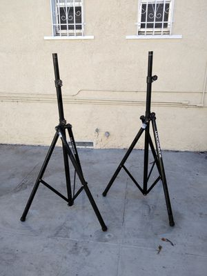Aluminum Tripod Ultimate Speaker Stands for Sale in Los Angeles, CA