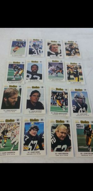Steeler cards $5 per set for Sale in Moon, PA