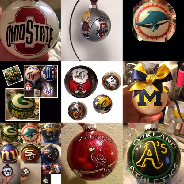 Hand Painted Christmas Ornaments For Sale In Las Vegas Nv Offerup