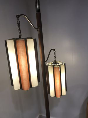 Mid Century Modern Pole Lamp for Sale in St. Louis, MO
