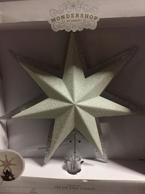 Target led lit tree topper brand new for Sale in Miami, FL
