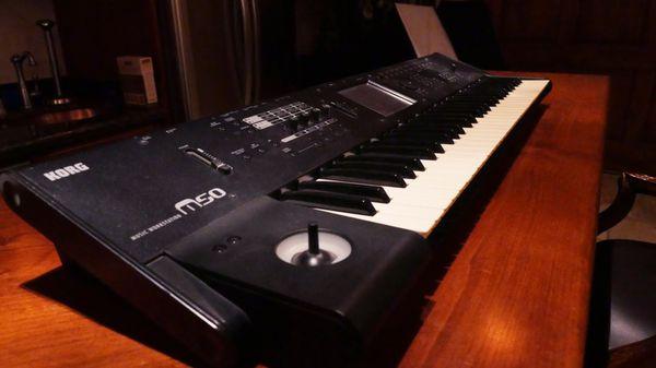 Korg m50 keyboard for Sale in San Diego, CA - OfferUp