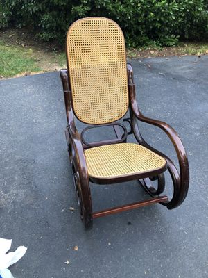 Wooden Rocking Chair for Sale in Falls Church, VA
