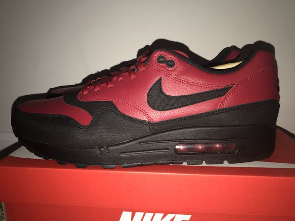 premium selection f410b 25220 Nike Air Max 1 LTE PREMIUM Size 13 DS Leather BRED