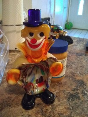 Glass clown for Sale in Orlando, FL
