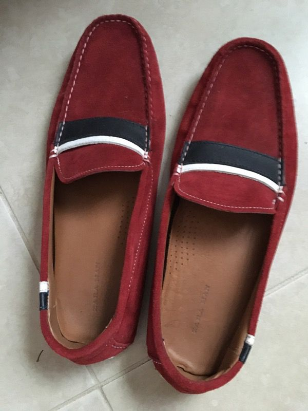 Red Zara's Original Loafers for Men