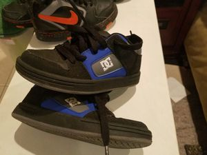 Boys size 10 DC shoes for Sale in Takoma Park, MD