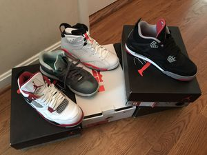 Nike and Jordan shoes for Sale. Offer up! for Sale in Manassas, VA