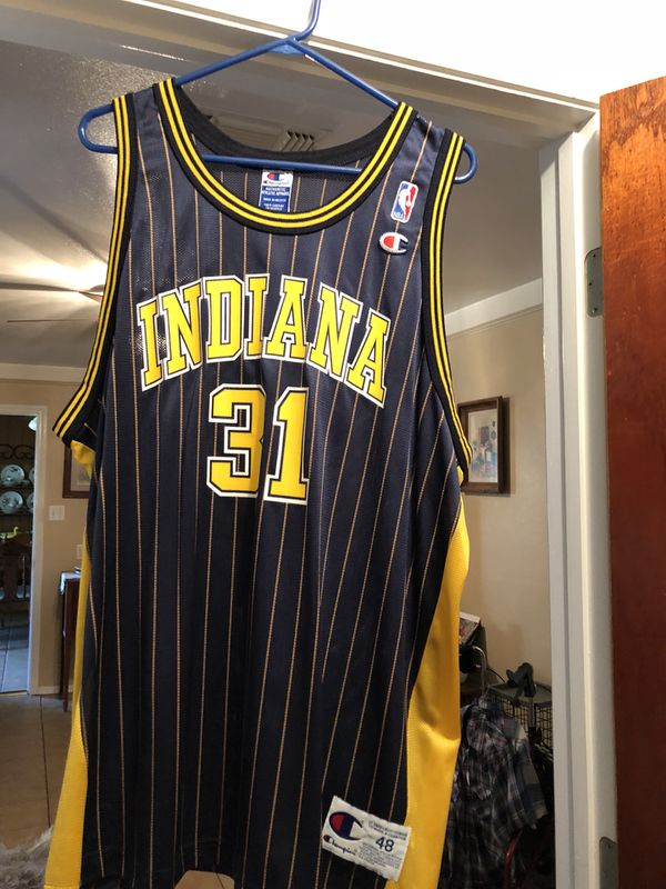 the latest add21 13a2d Indiana pacers Reggie miller jersey for Sale in Burleson, TX - OfferUp
