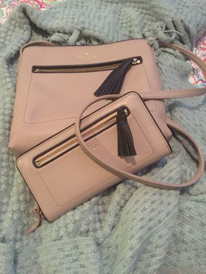 Kate Spade shoulder purse and matching wallet. for Sale in Laveen Village, AZ