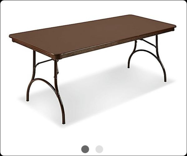 Astounding Come Now H Has To Go 5 8 Ft Rectangle Folding Tables And 3 Round Folding Table With 24 Folding Chairs 175 Firm For Sale In Temple Terr Fl Download Free Architecture Designs Grimeyleaguecom