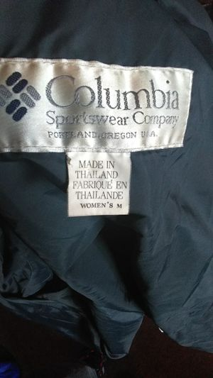 Columbia Sports Fall/Winter jacket New wore twice for Sale in Portland, OR