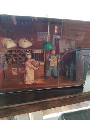 Antique/Primitive Diorama U.S Mail for Sale in Orlando, FL