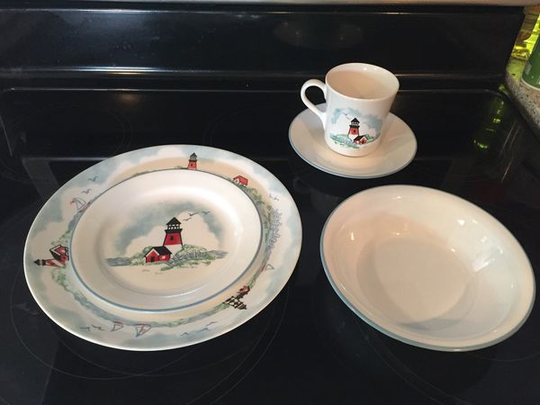 Corelle Lighthouse Dishes For Sale In Ravenna Oh Offerup