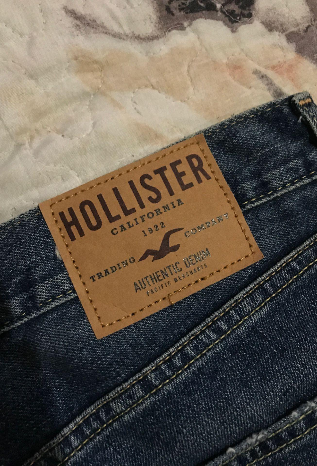 28x30 slim straight hollister pants new !