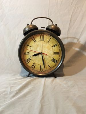 Metal Bell Clock for Sale in Laveen Village, AZ