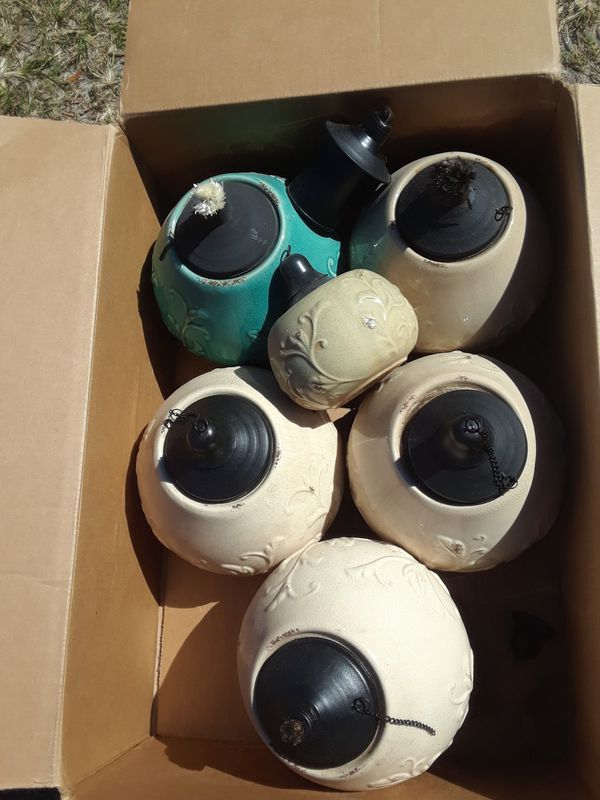 Beautiful Pottery Ceramic Torches For Sale In Tampa Fl