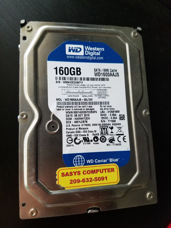 160gb Western Digital Hard drive for Sale in San Jose, CA - OfferUp